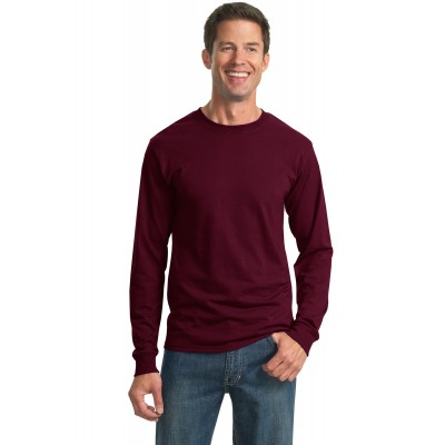 JERZEES - Dri-Power 50/50 Cotton/Poly Long Sleeve T-Shirt. 29LS