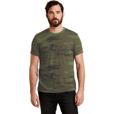 Alternative Eco-Jersey Crew Camo T-Shirt AA1973