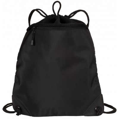Port Authority - Cinch Pack with Mesh Trim. BG810
