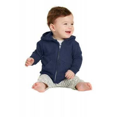 Port & Company Infant Core Fleece Full-Zip Hooded Sweatshirt. CAR78IZH