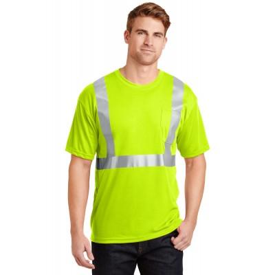 CornerStone - ANSI 107 Class 2 Safety T-Shirt. CS401