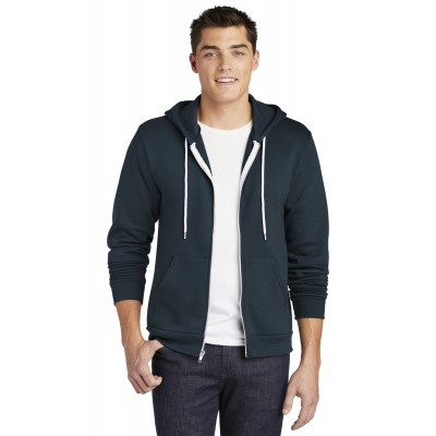 American Apparel USA Collection Flex Fleece Zip Hoodie. F497