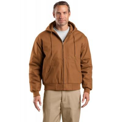 CornerStone Tall Duck Cloth Hooded Work Jacket. TLJ763H