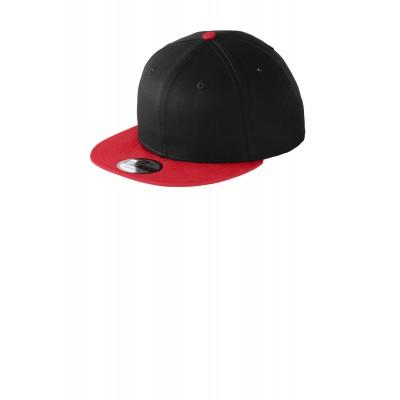 New Era - Flat Bill Snapback Cap. NE400