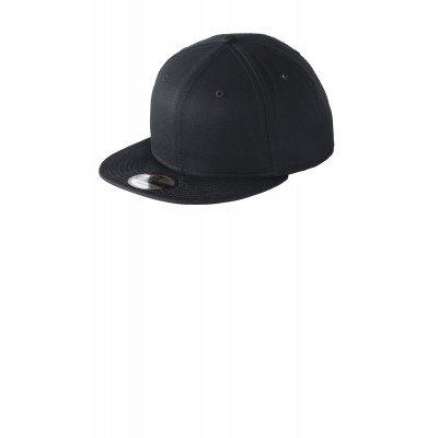 New Era - Flat Bill Snapback Cap. NE400