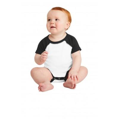 Rabbit Skins Infant Baseball Fine Jersey Bodysuit. RS4430