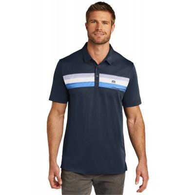 TravisMathew Cabana Chest Stripe Polo. TM1MU416